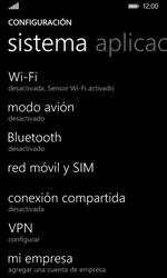 Nokia Lumia 635 - Mensajería - Configurar el equipo para mensajes multimedia - Paso 4