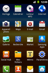 Samsung S7500 Galaxy Ace Plus - Wifi - configuration manuelle - Étape 2