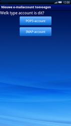 Sony Ericsson Xperia X10 - E-mail - Handmatig instellen - Stap 7