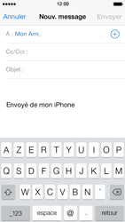 Apple iPhone 5 iOS 7 - E-mail - envoyer un e-mail - Étape 5
