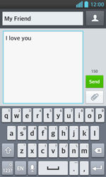 LG E460 Optimus L5 II - Mms - Sending a picture message - Step 8
