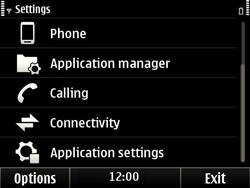 Nokia E6-00 - Network - Usage across the border - Step 4