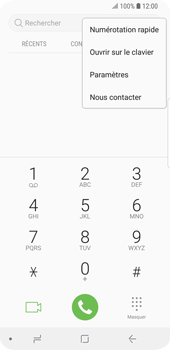 Samsung Galaxy S9 - Messagerie vocale - Configuration manuelle - Étape 5