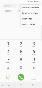 Samsung Galaxy S9 - Messagerie vocale - configuration manuelle - Étape 6