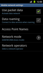 Samsung I8530 Galaxy Beam - Internet - Manual configuration - Step 7