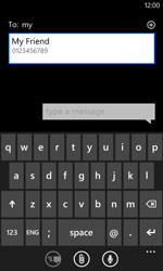 Nokia Lumia 620 - MMS - Sending pictures - Step 5