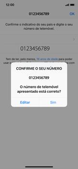 Apple iPhone X - iOS 12 - Aplicações - Como configurar o WhatsApp -  10