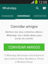 Samsung Galaxy Pocket Neo - Aplicações - Como configurar o WhatsApp -  11