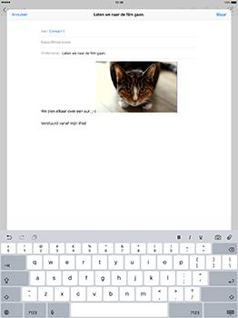 Apple iPad Pro 12.9 (1st gen) - iOS 10 - E-mail - Hoe te versturen - Stap 12
