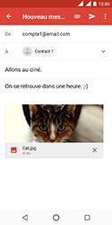Nokia 3.1 - E-mails - Envoyer un e-mail - Étape 15