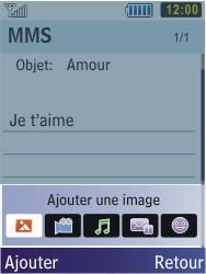 Samsung S5610 Primo - MMS - envoi d'images - Étape 10