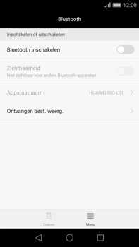 Huawei G8 - Bluetooth - Koppelen met ander apparaat - Stap 4