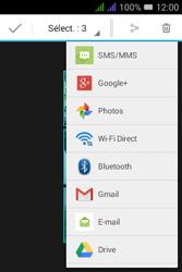 Alcatel Pixi 3 Dual Sim - Photos, vidéos, musique - Envoyer une photo via Bluetooth - Étape 11