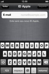 Apple iPhone iOS 5 - Primeiros passos - Como ativar seu aparelho - Etapa 16