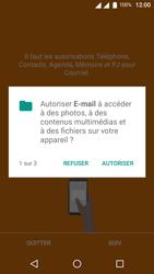 Wiko U-Feel Lite - E-mail - Configuration manuelle - Étape 5