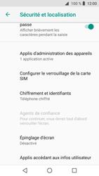Crosscall Core X3 - Sécuriser votre mobile - Personnaliser le code PIN de votre carte SIM - Étape 5