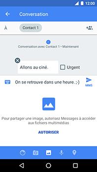 Motorola Moto E4 Plus - Contact, Appels, SMS/MMS - Envoyer un MMS - Étape 12