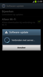 Samsung I9300 Galaxy S III - Software update - update installeren zonder PC - Stap 8
