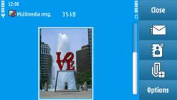 Nokia N97 - MMS - Sending pictures - Step 16