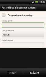 HTC T328e Desire X - E-mail - Configuration manuelle - Étape 14