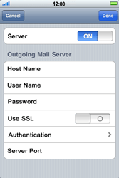 Apple iPhone 3G S - Email - Manual configuration - Step 14