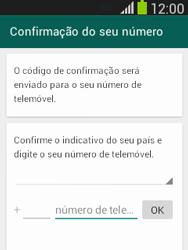 Samsung Galaxy Pocket Neo - Aplicações - Como configurar o WhatsApp -  6