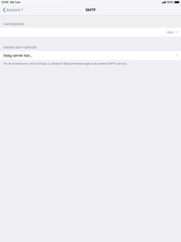 Apple ipad-pro-10-5-inch-ios-12 - E-mail - Account instellen (POP3 zonder SMTP-verificatie) - Stap 20