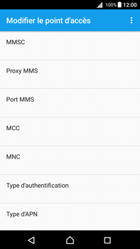 Sony Xperia Z5 Premium (E6853) - Android Nougat - MMS - Configuration manuelle - Étape 11