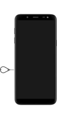 Samsung Galaxy J6 - Primeiros passos - Como inserir o chip da Nextel no seu celular - Etapa 2