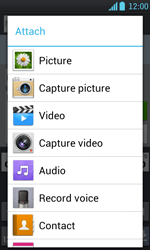 LG P700 Optimus L7 - MMS - Sending pictures - Step 10