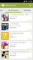 Sony Xperia J - Aplicaciones - Descargar aplicaciones - Paso 12
