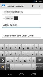 Acer Liquid Jade S - E-mail - envoyer un e-mail - Étape 7