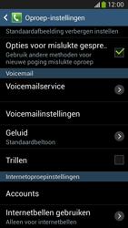 Samsung C105 Galaxy S IV Zoom LTE - Voicemail - Handmatig instellen - Stap 6