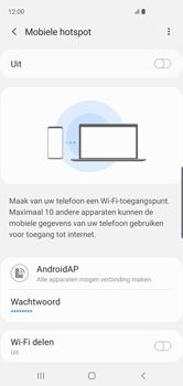 Samsung Galaxy S10 - Internet - mijn data verbinding delen - Stap 8