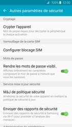 Samsung Galaxy S6 Edge - Sécuriser votre mobile - Personnaliser le code PIN de votre carte SIM - Étape 6