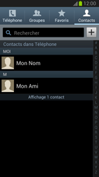 Samsung Galaxy Note 2 - Contact, Appels, SMS/MMS - Utiliser la visio - Étape 4