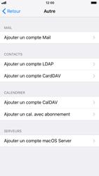 Apple iPhone 6 - iOS 11 - E-mails - Ajouter ou modifier un compte e-mail - Étape 6