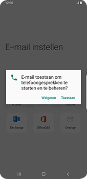 Samsung Galaxy S9 Plus - Android Pie - E-mail - e-mail instellen (outlook) - Stap 11