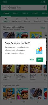 Samsung Galaxy A50 - Aplicativos - Como baixar aplicativos - Etapa 4