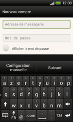 HTC C525u One SV - E-mail - Configuration manuelle - Étape 6