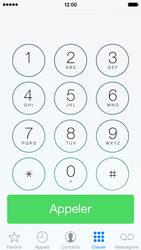 Apple iPhone 5s - Contact, Appels, SMS/MMS - Utiliser la visio - Étape 3