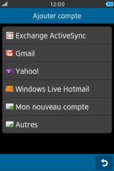 Samsung Wave M - E-mails - Ajouter ou modifier un compte e-mail - Étape 5