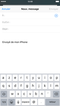 Apple iPhone 6 Plus iOS 9 - E-mail - envoyer un e-mail - Étape 3
