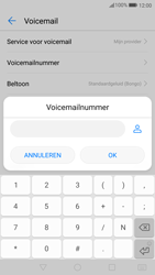 Huawei P10 (Model VTR-L09) - Voicemail - Handmatig instellen - Stap 8