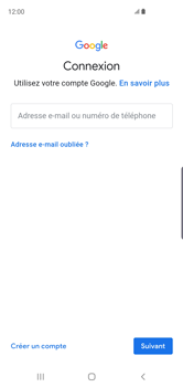 Samsung Galaxy S10 - E-mail - Configurer l