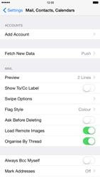 Apple iPhone 6 Plus - E-mail - Manual configuration (outlook) - Step 4