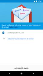 Google Pixel 2 - Email - Como configurar seu celular para receber e enviar e-mails - Etapa 12