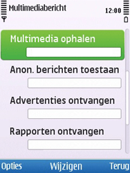 Nokia 6700 slide - MMS - probleem met ontvangen - Stap 8