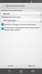 Sony Xperia Z3 - E-mail - Configurar correo electrónico - Paso 16