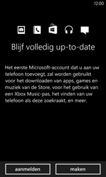 Nokia Lumia 1020 - Applicaties - Account aanmaken - Stap 11